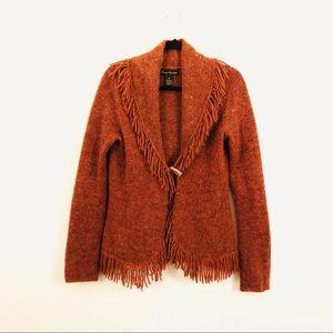 Marisa Christina Boho Style Sweater with fring